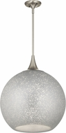 Kichler 43553NI Sitara Modern Brushed Nickel 18  Drop Lighting Fixture