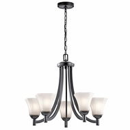 Kichler 43631BK Serena Black Chandelier Light