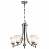 Kichler 43631NI Serena Brushed Nickel Ceiling Chandelier