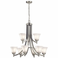 Kichler 43632NI Serena Brushed Nickel Chandelier Light