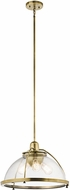 Kichler 43739NBR Silberne Contemporary Natural Brass Hanging Light