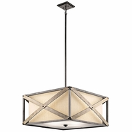 Kichler 43776AVI Cahoon Anvil Iron Drop Lighting