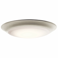 Kichler 43848NILED27 Brushed Nickel LED 2700K 7.5  Ceiling Light Fixture