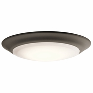 Kichler 43848OZLED27 Olde Bronze LED 2700K 7.5  Flush Mount Lighting