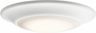 Kichler 43848WHLED30T White LED Interior / Exterior Ceiling Light Fixture