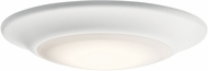 Kichler 43848WHLED40T Contemporary White LED Flush Mount Light Fixture