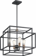 Kichler 43984BK Taubert Modern Black Ceiling Light Pendant
