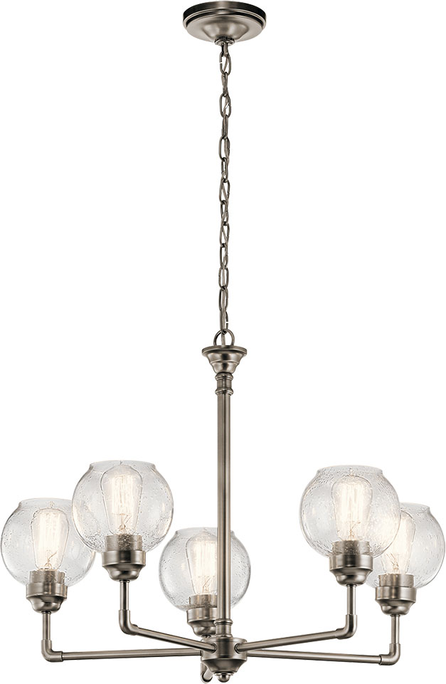 Kichler 43993ap niles contemporary antique pewter chandelier kichler 43993ap niles contemporary antique pewter chandelier lighting loading zoom aloadofball Images