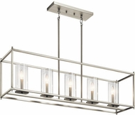 Kichler 43995NI Crosby Contemporary Brushed Nickel Island Lighting