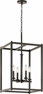 Kichler 43998OZ Crosby Contemporary Olde Bronze Foyer Light Fixture