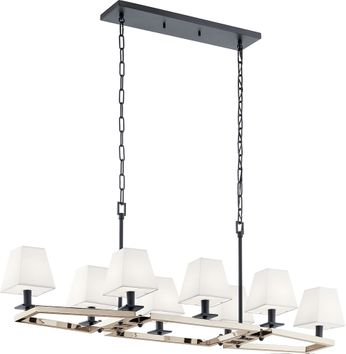 Kichler 44023PN Dancar Polished Nickel Island Lighting