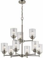 Kichler 44031NI Winslow Contemporary Brushed Nickel Chandelier Light