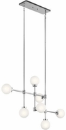 Kichler 44094CH Aura Contemporary Chrome Halogen Island Lighting