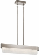 Kichler 44160CLPLED Serene Contemporary Classic Pewter LED Kitchen Island Lighting