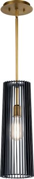 Kichler 44169BK Linara Modern Black Mini Pendant Light Fixture