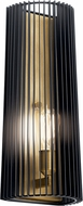 Kichler 44170BK Linara Contemporary Black Wall Lamp