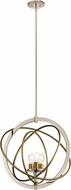 Kichler 44202PN Ibis Contemporary Polished Nickel 22.5  Pendant Lamp