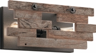 Kichler 44230AVI Cuyahoga Mill Contemporary Anvil Iron Wall Lighting