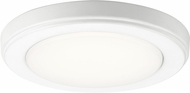 Kichler 44244WHLED40 Zeo Contemporary White LED 7 Ceiling Light Fixture