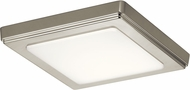 Kichler 44245NILED30 Zeo Modern Brushed Nickel LED 7  Flush Lighting