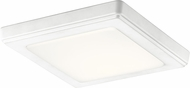 Kichler 44245WHLED30 Zeo Modern White LED 7  Overhead Lighting