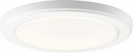 Kichler 44246WHLED30 Zeo Modern White LED 10  Flush Mount Ceiling Light Fixture