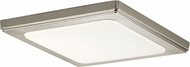 Kichler 44247NILED40 Zeo Contemporary Brushed Nickel LED 10 Overhead Lighting Fixture