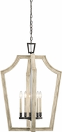 Kichler 44262AVI Botanica Anvil Iron Foyer Lighting