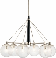Kichler 44269PN Marilyn Contemporary Polished Nickel Chandelier Lamp