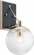 Kichler 44271PN Marilyn Contemporary Polished Nickel Light Sconce