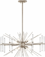 Kichler 44276PN Eris Polished Nickel Ceiling Chandelier