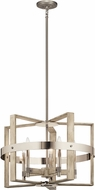 Kichler 44290WWW Peyton Contemporary White Washed Wood Lighting Chandelier