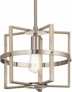 Kichler 44291WWW Peyton Modern White Washed Wood Pendant Lighting