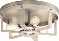 Kichler 44293WWW Peyton Modern White Washed Wood Ceiling Lighting