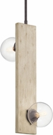 Kichler 44297WWW Marquee Contemporary White Washed Wood Mini Pendant Light