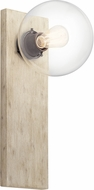 Kichler 44298WWW Marquee Modern White Washed Wood Wall Lighting