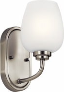 Kichler 44381NI Valserrano Modern Brushed Nickel Light Sconce