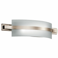 Kichler 45087PNLED Freeport Contemporary Polished Nickel LED 22  Lighting For Bathroom