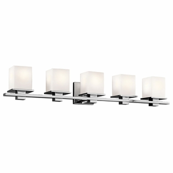 Kichler 45193CH Tully Chrome 5-Light Vanity Lighting