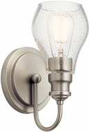 Kichler 45390NI Greenbrier Contemporary Brushed Nickel Wall Sconce Lighting