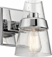 Kichler 45395CH Reese Modern Chrome Sconce Lighting