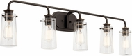 Kichler 45461OZ Braelyn Contemporary Olde Bronze Lighting For Bathroom