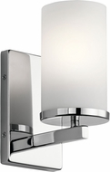 Kichler 45495CH Crosby Modern Chrome Light Sconce