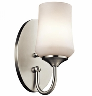 Kichler 45568NI Aubrey Brushed Nickel Wall Light Sconce