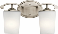 Kichler 45596AP Versailles Antique Pewter 2-Light Bath Sconce