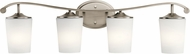 Kichler 45598AP Versailles Antique Pewter 4-Light Bathroom Wall Sconce