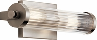 Kichler 45648CLP Azores Modern Classic Pewter 2-Light Bathroom Light Fixture