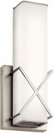 Kichler 45656NILED Trinsic Contemporary Brushed Nickel LED Wall Lighting Sconce
