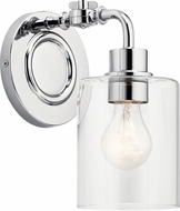 Kichler 45664CH Gunnison Modern Chrome Lighting Sconce