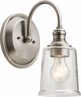 Kichler 45745CLP Waverly Modern Classic Pewter Wall Lighting Fixture